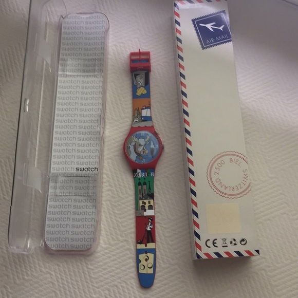 Swatch Zurich watch.  Brand new.